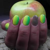 zielone jablko